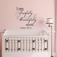 compare prices on wall mural removable online shopping buy low i am fearfully and wonderfully made wall art stickers decal home diy decoration decor wall mural