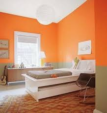 Bright Bedroom Ideas Orange And Green Wall Color For Bright Bedroom Ideas With Funky