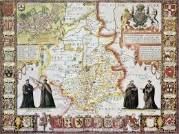 Tre Map Cambridgeshire Old Map From The Theatre Of The Empire Of Great