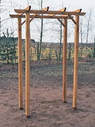wedding arches building plans how to build a freestanding wooden pergola kit
