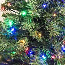 artificial christmas trees multi colored lights luscious artificial christmas tree 7 5 foot with multicolored