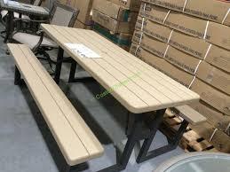lifetime picnic table costco costco picnic table image collections table decoration ideas