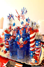july 4th decorations decorating the table for 4th of july toot sweet 4 two