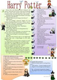 45 free esl harry worksheets