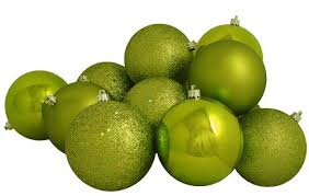 ornaments cheap 60ct key lime green shatterproof 4