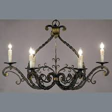 Vintage Wrought Iron Chandeliers Antique Iron Chandelier C Antique Twisted Iron Chandelier