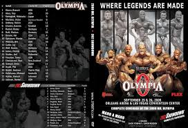 ifbb mr olympia dvd s for sale