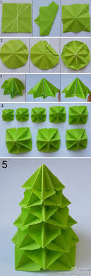 origami for tree printable