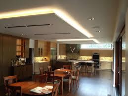modern kitchen restaurant general lighting dilux lighting