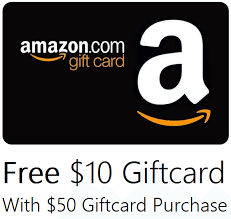 gift card purchase targeted free 10 credit with 50 gift card purchase