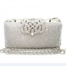Top Quality Luxury Full Diamond Women Party Clutch Evening Bags