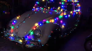 volkswagen christmas christmas 2013 1965 vw bug decorated youtube