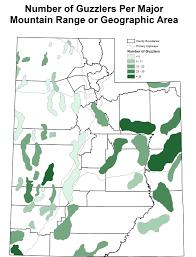 Utah County Map Utah Division Of Wildlife Resources Water For Wildlife