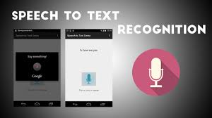 the voice app android speech to text app tutorial using in built feature android
