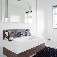 bathroom mosaic ideas dining room with white wall tiles things that inspire bathrooms
