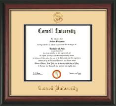 ucf diploma frame cornell diploma frame rosewood w gold lip w cornell