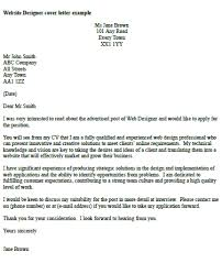 new web designer cover letter example 58 in good cover letter with