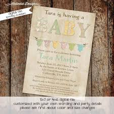 Baby Shower Invitation Wording Bring Books Instead Of Card Gender Neutral Baby Shower Invitations Katiedid Designs