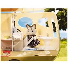 Calico Critters Play Table by Calico Critters Caravan Family Camper Building Blocks