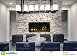 modern open floor plan dining room design stock image image