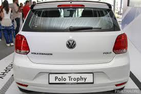 volkswagen malaysia vw polo trophy limited edition rear indian autos blog