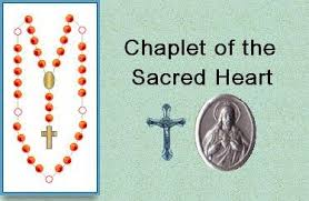 sacred heart rosary chaplets
