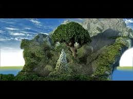 the world tree customish terrain custom trees minecraft project