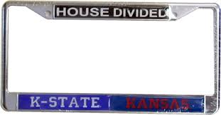 michigan state alumni license plate frame customizable ncaa house divided license plate frames with free