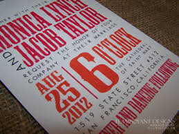 contemporary wedding invitations contemporary orange and fuchsia wedding invitations by flamboyant