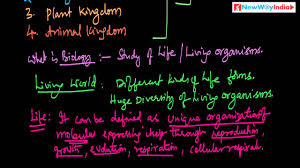 cbse class 11 biology lessons 001 diversity in the living