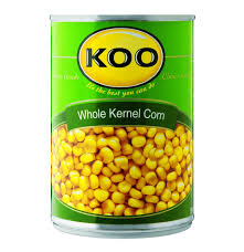 koo whole kernel corn brine 12 x 410g lowest prices u0026 specials