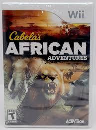 Cabelas Dog Bed Wii Wii U Cabela U0027s African Adventures Game W Top Shot Elite Rifle
