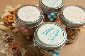 Mason Jar Party Favors Make Your Own Mason Jar Trail Mix Wedding Favors