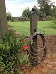 Garden Hose Hanger With Faucet Weather Resistant Wall Mount Hose Hanger For The Home