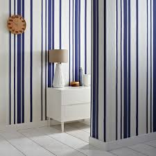 Navy Blue And White Bathroom by Beautiful Bathroom Wallpapers