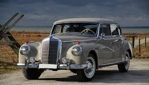 mercedes adenauer mercedes 300c adenauer 1957