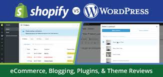 shopify vs wordpress ecommerce blog themes plugin integration
