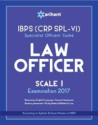 ibps crp spl v specialist officer law officer 2016 study guide
