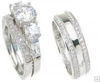 wedding rings his and hers matching sets his and wedding sets