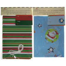 set of 2 gift bags jumbo sacks for large