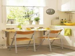 Dining Table For Small Space Dining Room Natural Wooden Wall Mounted Narrow Dining Tables For