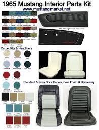 1965 mustang interior colors inspiration rbservis com