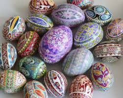 ukrainian decorated eggs poppy pysanka traditional design ukrainian easter egg batik