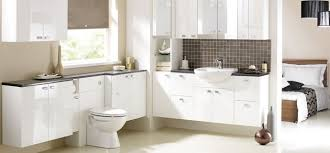 White Gloss Bathroom Furniture Clyde Bathrooms Gloss White
