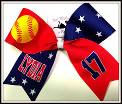 softball bows not without a bow custom unique affordable cheer bows