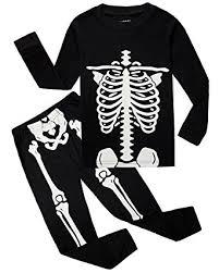 Boys Skeleton Halloween Costume Amazon Family Feeling Boys Girls Skeleton Halloween