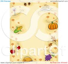thanksgiving border clipart free royalty free rf thanksgiving border clipart illustrations