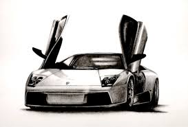 lamborghini drawing lamborghini murcielago by titan360 on deviantart