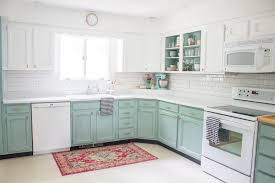 linen chalk paint kitchen cabinets chalk painted kitchen cabinets two years later
