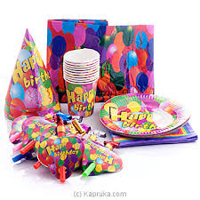 party items top 10 item happy birthday party packs imported by kapruka